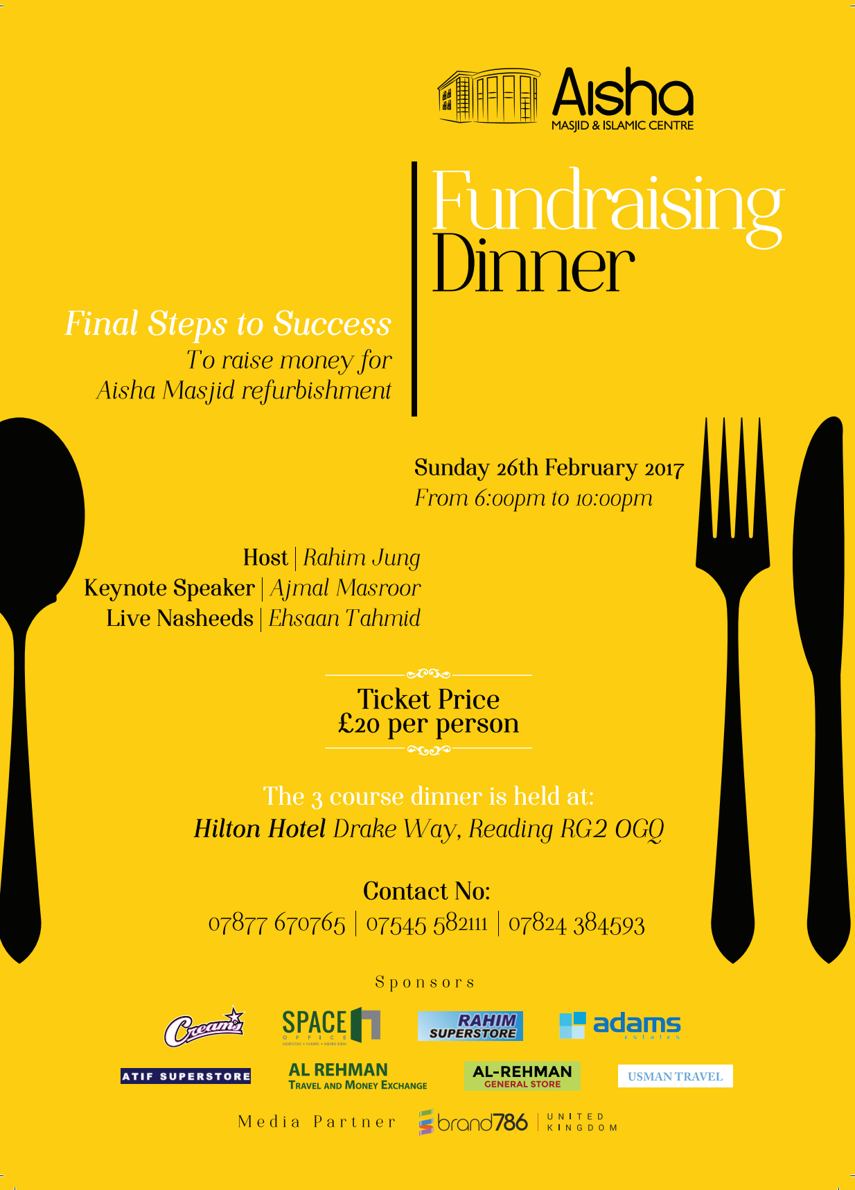 Fundraising Dinner 2017